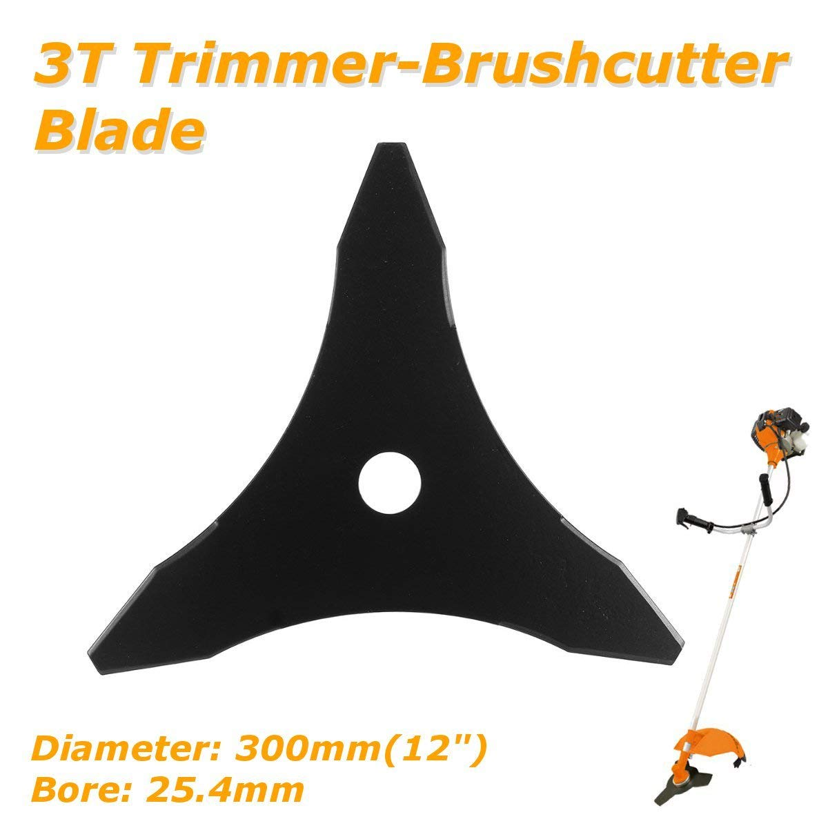 3t/ 5t/ 6t Garden Lawn Mower Blade Manganese Steel Grass Trimmer Brush Cutter Head Long Performance Life Tools