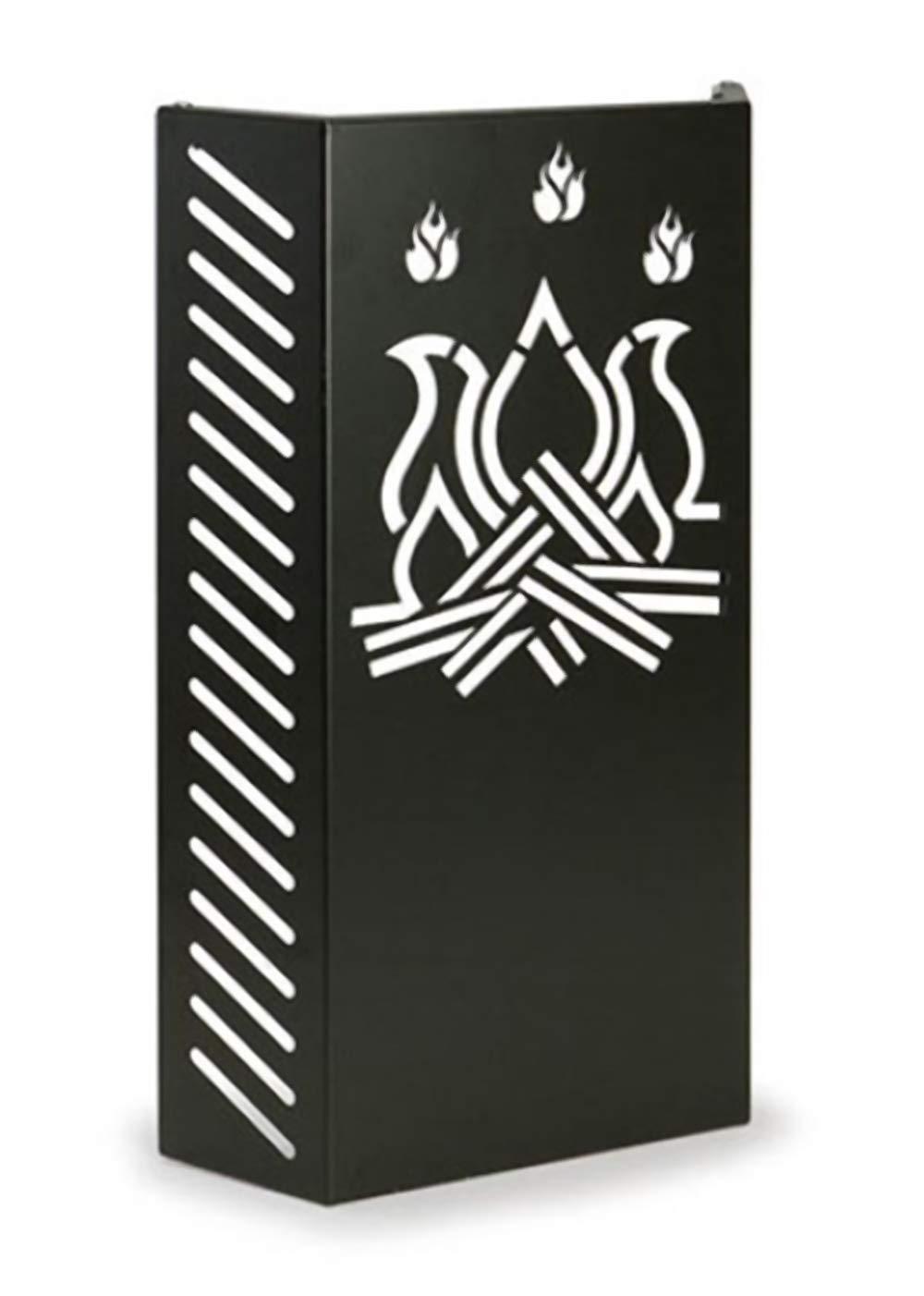 KALAMI' 4: Barrière de sécurité poêles, cheminée, en acier, protéger les enfants, pare feu Bébé, grill de protection, Made in Italy, design Firestyle. Gavemo