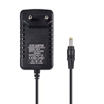 soulbay 6 V 1 A Fuente de alimentación para Omron Healthcare Tensiómetro de brazo 5 7 10 Serie - Fuente Cable de repuesto para Hem de adptw5: Amazon.es: ...