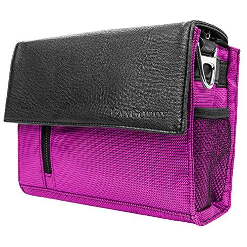 Women's Purple Travel Gear Shoulder / Messenger Bag Case for Canon Mirrorless DSLR Compact - Live Chat Mens Warehouse