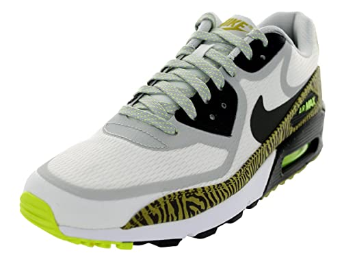 new concept f153a 54c24 Nike Men s Air Max 90 CMFT PRM Tape SMMT Wht Nwsprnt Dsty Gry