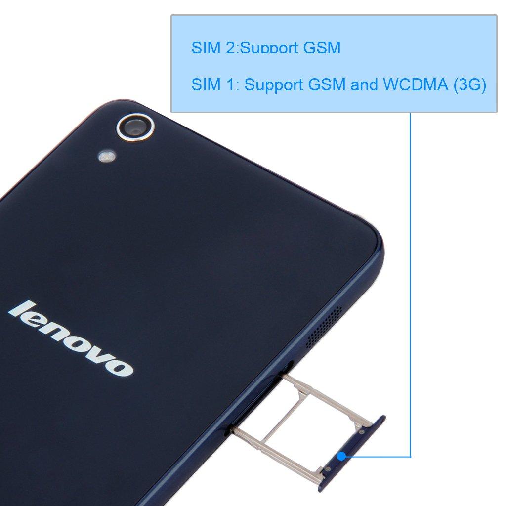 Lenovo S850 Quad Core Smartphone Dark Blue 5 Inch Big Quadcore Processor Electronics