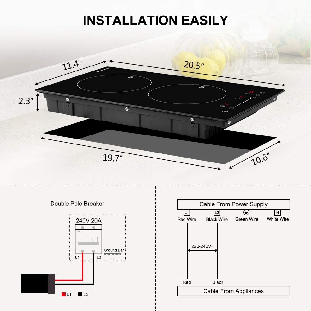 thermomate Electric Cooktop