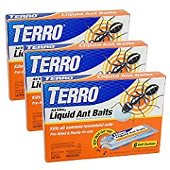 Attract and kill the ants you see and the ones you don't with TERRO Liquid Ant Baits. The liquid, which contains borax, is specifically designed to allow worker ants to consume the product, survive long enough to carry the liquid back to the ...