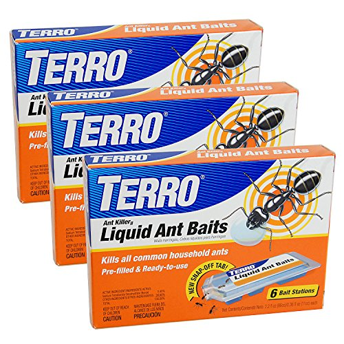 Terro T300-3 Ant Killer Liquid Ant Baits (3 Pack) by Terro