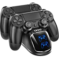 PS4 Controller Charger, OIVO Dualshock 4 Controller USB Charging Station Dock with LED…