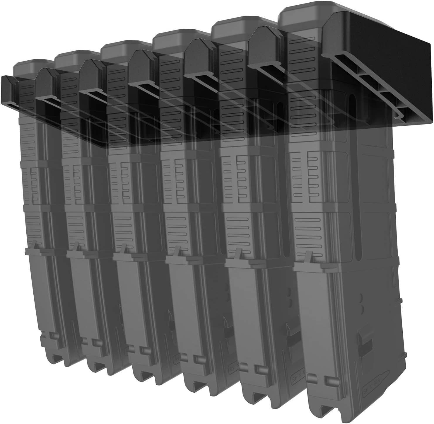 Solid ABS Standard PMAG Wall Mount, Mag Holder, Home Magazine Storage Rack