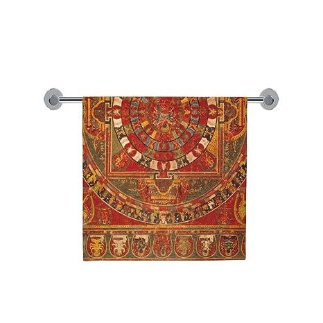 Amor naturaleza personalizada Mandala de baño cuerpo ducha toalla de baño Wrap para el hogar al