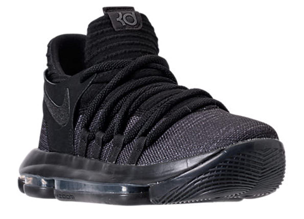 competitive price hot-selling latest hottest sale NIKE Zoom KD10 GS Basketball Shoes Kids Youth All Black New 918365-004 - 5