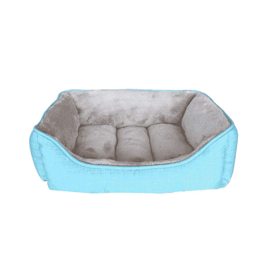 S YAN FEI Kennel Small Medium And Large Dogs golden Retriever Four Seasons Removable And Washable Dog Supplies Waterproof Pet Nest Creative Pet Beds (Size   S)
