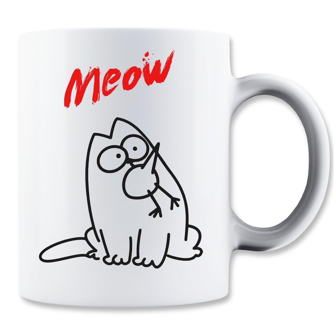 Kaffeetasse: Meow (350ml)