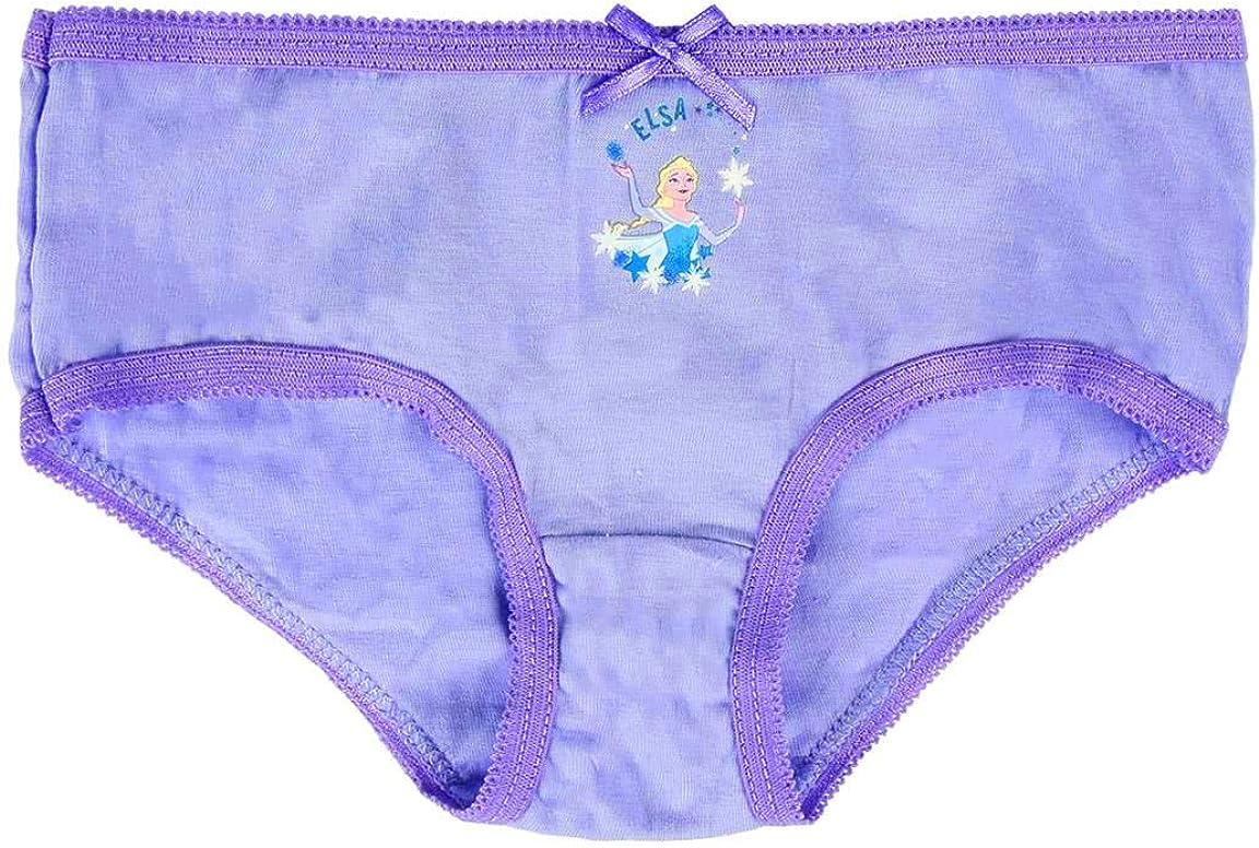 Disney Frozen 2 Culottes pour Filles Design Reine des Neiges Culottes 100/% Coton Doux Slips sous-V/êtements pour Enfants et Beb/é 2 /à 6 Ans Emballage Multiple de 5
