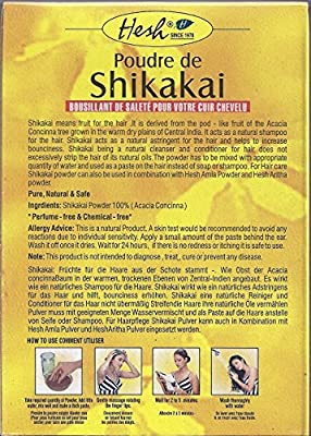 Shikakai Powder 3.5oz (100g) - Hesh Pharma (Pack of 6)