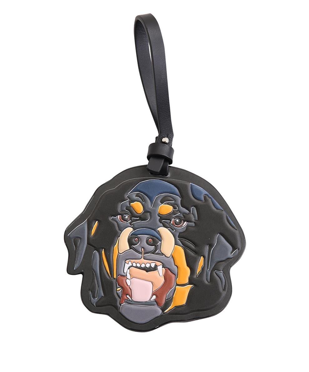 Rottweiler Bonded Leather Key Fob