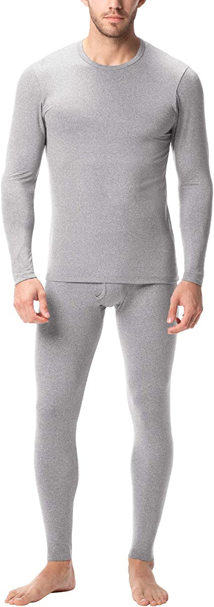 TALLA XXL. LAPASA Set de Ropa Térmica para Hombre. -Brushed Back Fabric Technique- M11/M57