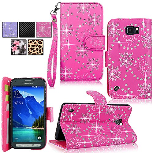 Galaxy Active Case Cellularvilla Pink Glitter