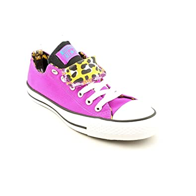 4b584dd66d74 Converse Chuck Taylor All Star Double Tongue Shoes - Purple Cactus Flower