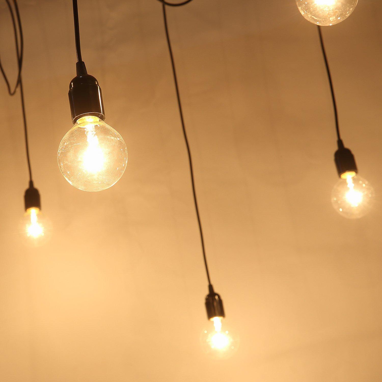 Vintage Chandelier Lights With 8 Lights, Art Deco Chandeliers, Antique