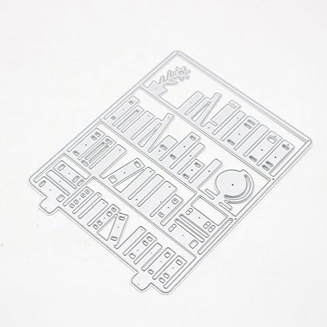 cugap corte muere repujado molde para hacer tarjetas Scrapbooking Álbum de fotos decorativo DIY papel tarjetas