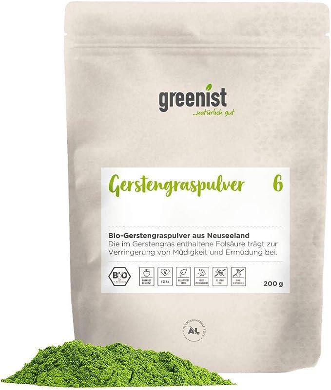 greenist Bio Premium - Polvo de hierba de cebada de Nueva ...