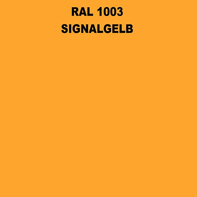 1 Spraydose 400ml Autolack Glänzend Ral 1003 Signalgelb Auto