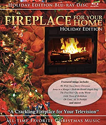 Amazon com: Fireplace: Holiday [Blu-ray]: Fireplace: Holiday