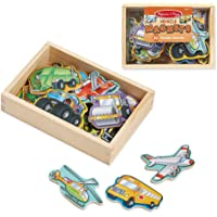 Melissa and Doug MD8588 Wooden Vehicles Magnets (20 Pieces)