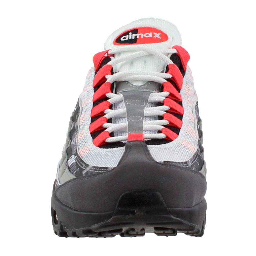 Nike Men's Air Max 95 PRNT, BlackBright Crimson: Amazon.co
