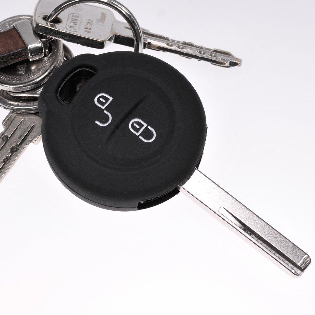 Key Soft Case Cover Capot de Protection de cl/é de Voiture a augment/é pour Mitsubishi Colt VI Smart Forfour 454