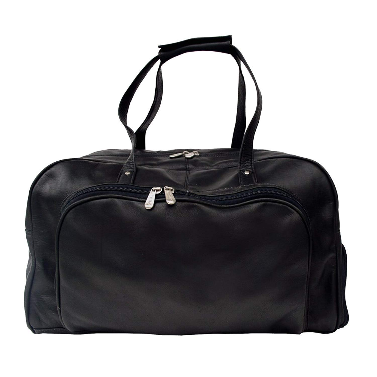 One Size Chocolate Piel Leather Deluxe Carry-On Duffel