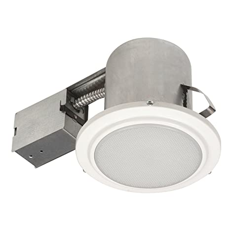 Globe Electric Damp Rated Shower Recessed Lighting Kit Dimmable - Damp rated bathroom light fixtures