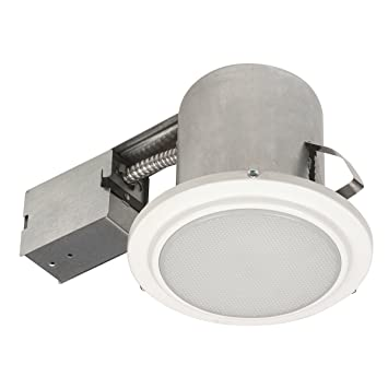 5 quot  Bathroom Shower Dimmable Downlight Recessed Lighting Kit  Tempered  Frosted Glass  Easy InstallAmazon com  5  Bathroom Shower Dimmable Downlight Recessed  . Easy Track Lighting Kit. Home Design Ideas