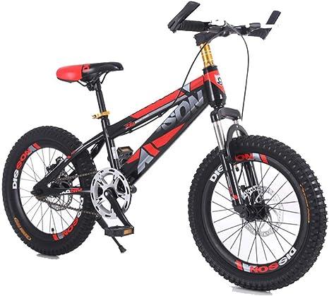 TD Bicicleta para Niños Bicicleta De Montaña 18/20 Pulgada Niño Niña Estudiante De Primaria 8-10-11-16 Años Freno De Pila Bicicleta V0044 (Color : B, Size : 18 Inches): Amazon.es: Deportes y aire libre