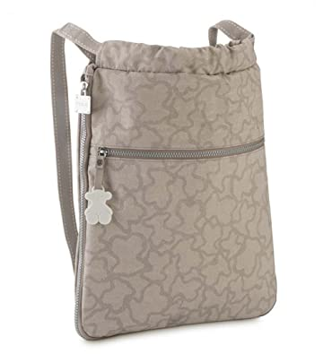 82c23ed8f Tous Caine Kaos N Women's Bag, Grey (Piedra 295810276), 33x38x6 centimeters  (