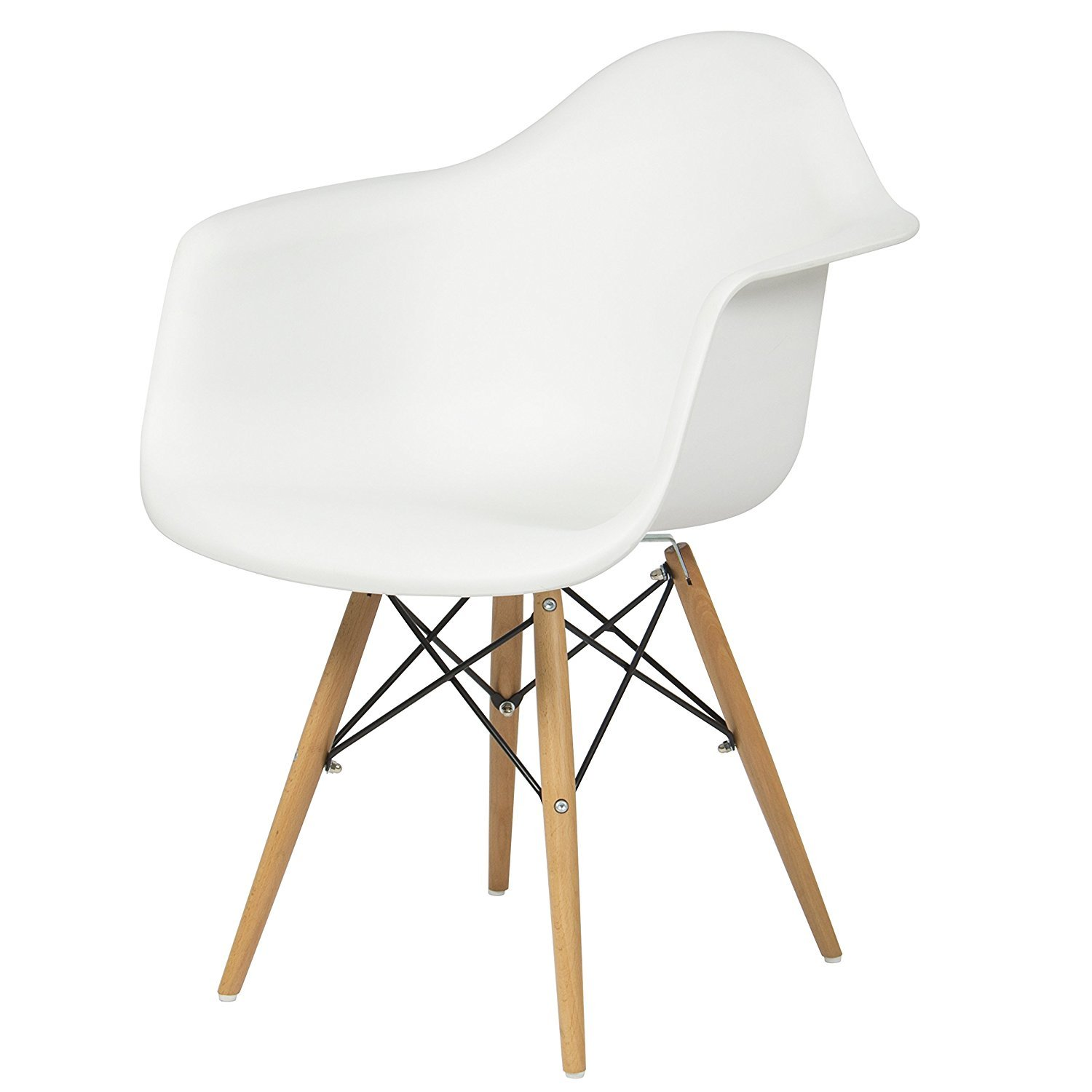 Amazon.com: Best Choice Products Eames Style Armchair Mid Century ...