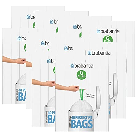 Brabantia Bin Liners made to the savings Pack 10 Packs 30 litres (G