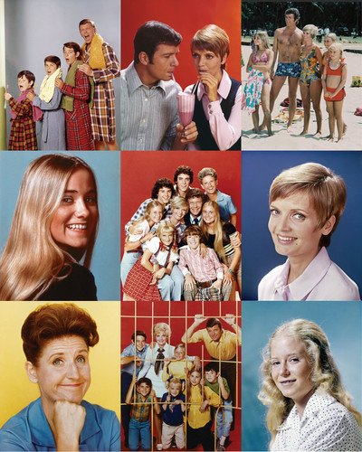 The Brady Bunch Montage Poster