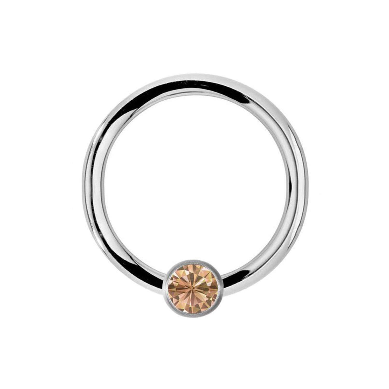 10PCS Steel Piercings Lip Eyebrow Nose Ring Crystal Daith Rook Ear Septum Helix Tragus Piercings