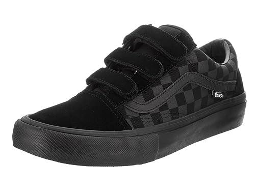 25970f19117b93 Vans Men s Old Skool V Pro (Rowan Zorilla) Black Skate Shoe 8.5 Men US   Amazon.ca  Shoes   Handbags