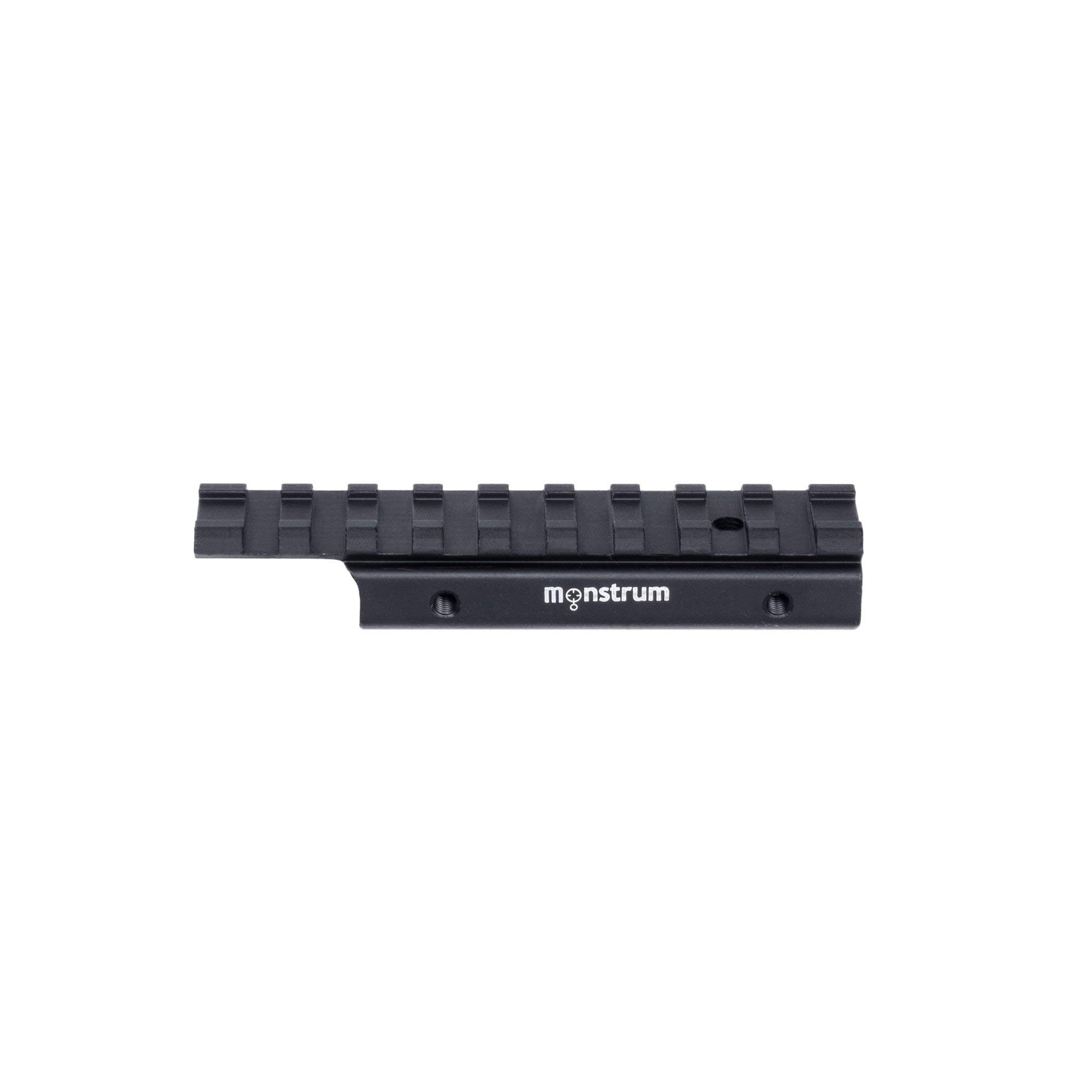 Monstrum Tactical Low Profile Dovetail to Picatinny/Weaver .22 Airgun Rail Adaptor
