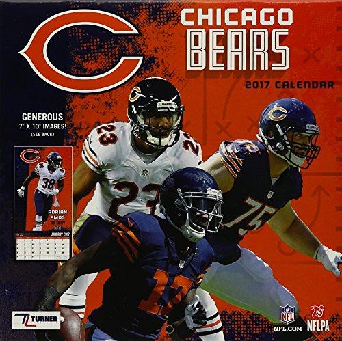 Chicago Bears 2017 Calendar  (mini wall calendar)