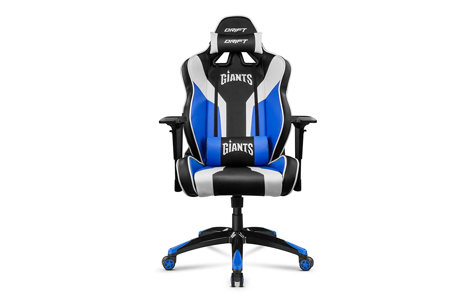 Drift DRGIANTS - Silla gaming, color negro, azul y blanco: Amazon.es: Informática
