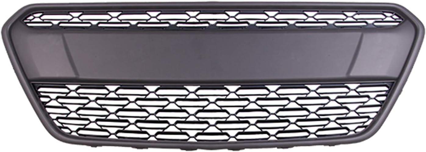 2016-2018 Chevrolet Spark Front Lower Grille; For Ls//Lt Models; Textured-Dark Gray; Made Of Pp Plastic Partslink GM1036190
