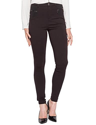 Cache Cache 6137002100, Pantalones para Mujer, Negro (Pirate Black), 34