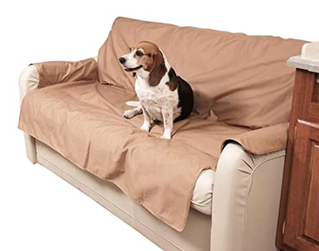 Awesome Canine Covers SRS001GY Sofa Saver Polycotton Gray Universal To 60 In.  Between Armrest Sofa Saver