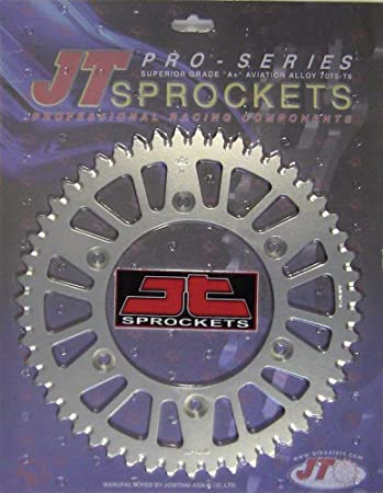 Actual parts may vary. JT REAR ALLOY SPROCKET Manufacturer Part Number: JTA217.49-AD Stock Photo 49 TOOTH Manufacturer: JT SPROCKET JTA217