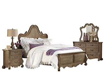 50ead0795f89 Image Unavailable. Image not available for. Color  Capels 5 Piece Queen  French Country Bedroom ...