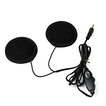 CARCHET® Auriculares Casco Cable Plástico Música MP3 para Moto Motocicleta