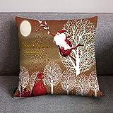 Pgojuni_Pillowcases Retro Merry Christmas Happy