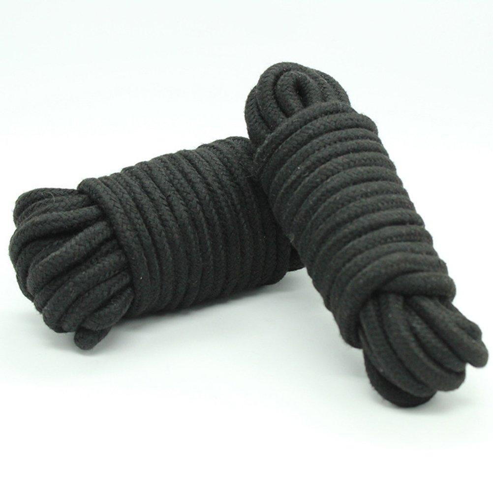 BESTOYARD 4 pezzi di corda di cotone morbido nodo legando per gli amanti delle coppie adulti gioco di contenimento